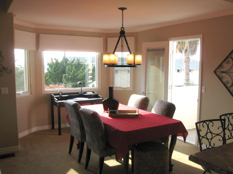 Dining Room with Writing Table